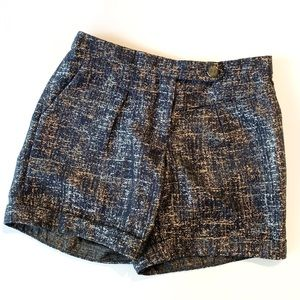 Anthropologie Coquille Shimmering Streets Shorts 2